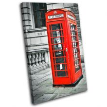 London Telephone Box Landmarks - 13-1847(00B)-SG32-PO